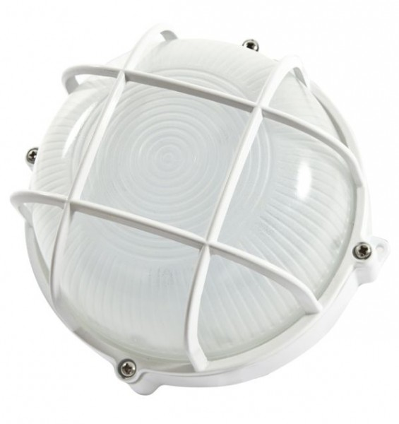 Synergy 21 LED Kellerleuchte rund IP65 12W cw