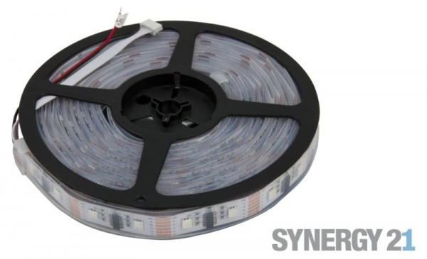 Synergy 21 LED pixel Flex Strip RGB DC5V WS2812B IP65