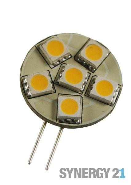 Synergy 21 LED Retrofit G4 6x SMD amber