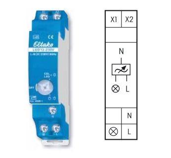 Eltako LUD12-230V, Leistungszusatz für Universal-Dimmschalter und Dimmschalter für PWMAnsteuerung