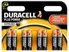 Batterien Micro AAA 1,5V *Duracell* Plus Power - 8er Pack