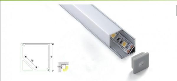 Synergy 21 LED U-Profil 200cm, ALU005