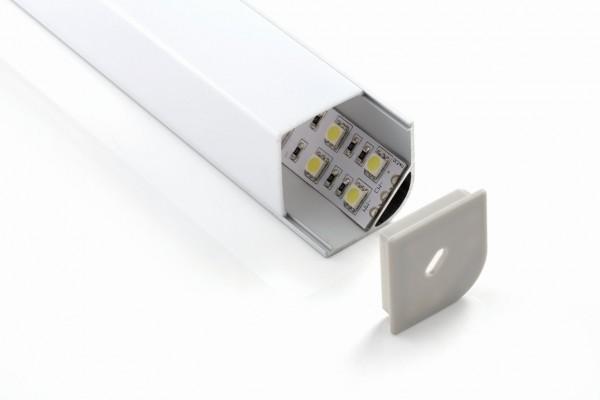 Synergy 21 LED U-Profil zub ALU015-R PMMA opal diffusor