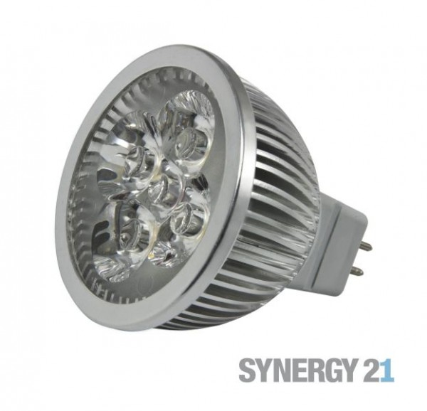Synergy 21 LED Retrofit GX5,3 4x1W nw V2 dimmbar