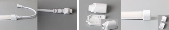 Synergy 21 LED Flex Strip NEON TB zub. Anschluss unten