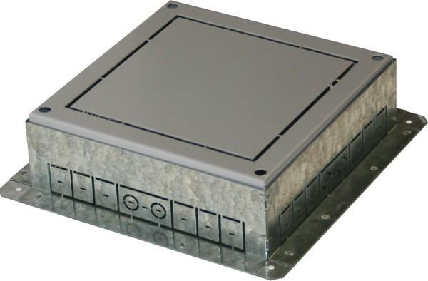 TEM Serie Modul Bodendose FLOOR BOX FLANGEMT 14 H=53mm