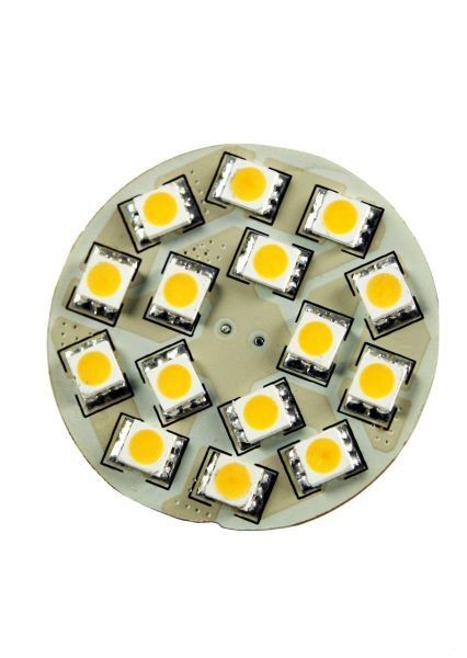 Synergy 21 LED Retrofit G4 15x SMD kw, Pins hinten