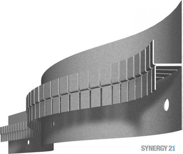 Synergy 21 LED Profil 200cm, Zinkblech TYP-B60 Flex