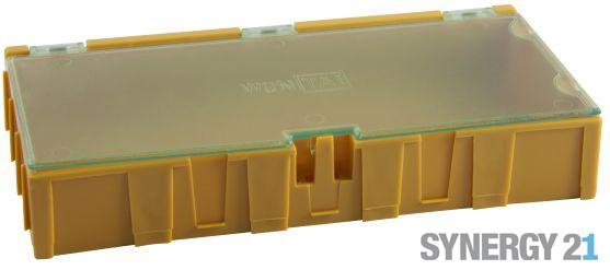 Synergy 21 Kleinteilemagazin, gelb 10 Stk.