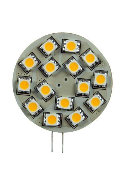 Synergy 21 LED Retrofit G4 15x SMD amber Pins hinten