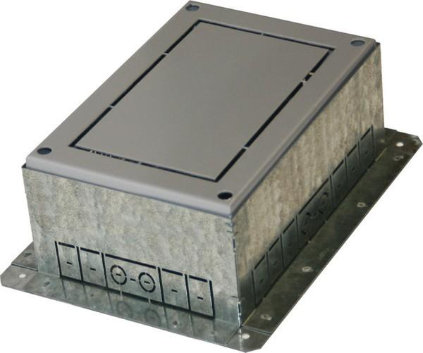 TEM Serie Modul Bodendose FLOOR BOX FLANGEMT 7 H=88mm