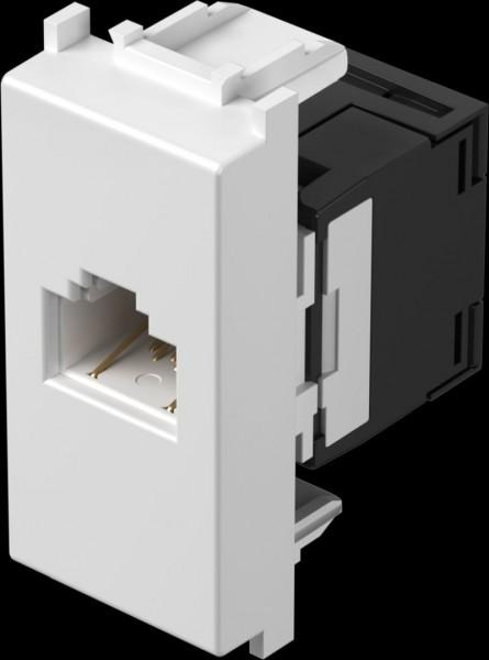 TEM Serie Modul Steckdosen SOCKET CAT6 SCH KSRJ45 8/8 1M