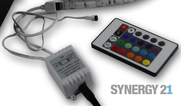 Synergy 21 LED Flex Strip RGB Controller DC12V IR -