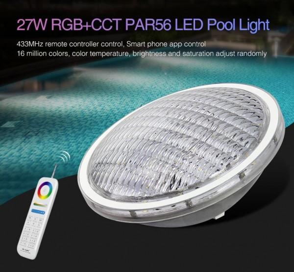 Synergy 21 LED LoRa (433MHZ) PAR56 Pool Light 27W RGB+CCT *Milight/Miboxer*