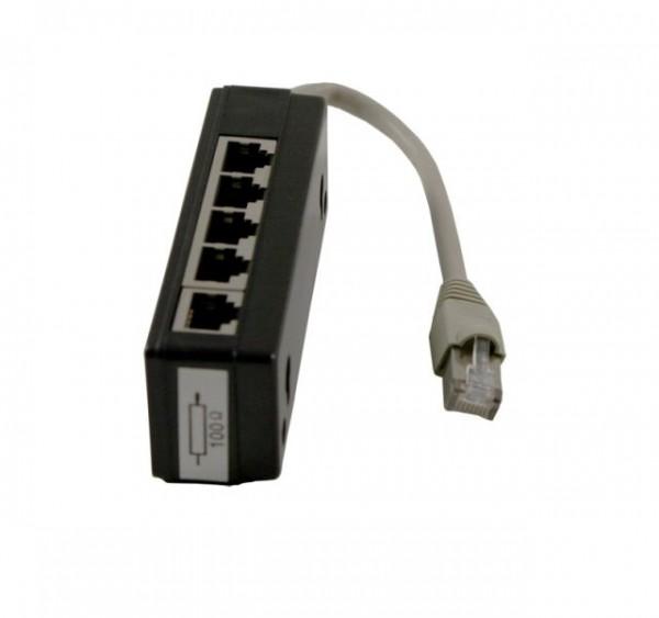 Kabel TK ISDN Verteiler 5fach, mit Widerstand, Synergy 21,