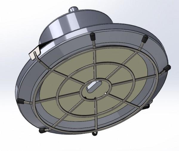 Synergy 21 LED Spot Pendelleuchte UFO zub. Ballschutzkorb L