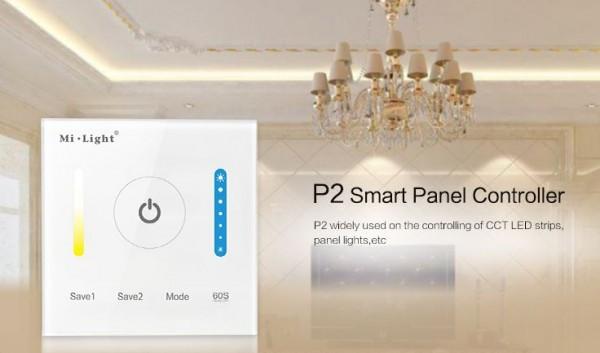 Synergy 21 LED Fernbedienung Smart Panel Controller(color temperature) *Milight/Miboxer*