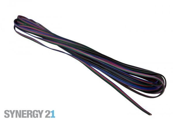 Synergy 21 LED Flex Strip zub. Flachbandkabel RGB-WW 5m
