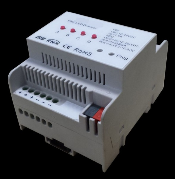Synergy 21 LED Controller EOS 08 KNX Dimmer 4*350mA Hutschiene
