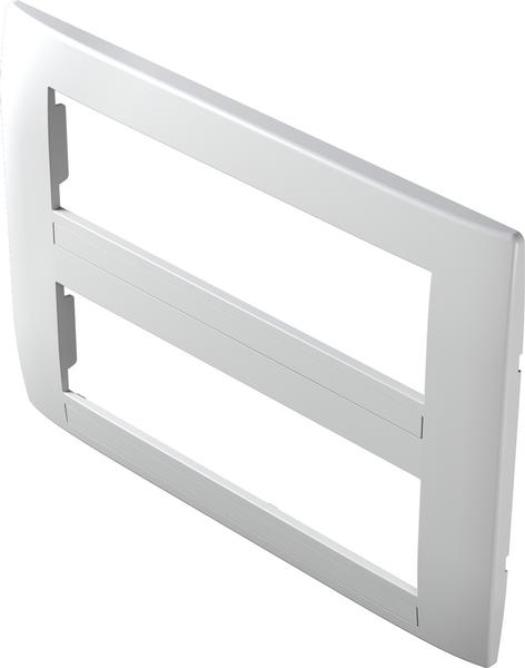 TEM Serie Modul Rahmen OS COVER PLATE SOFT2x7M PW