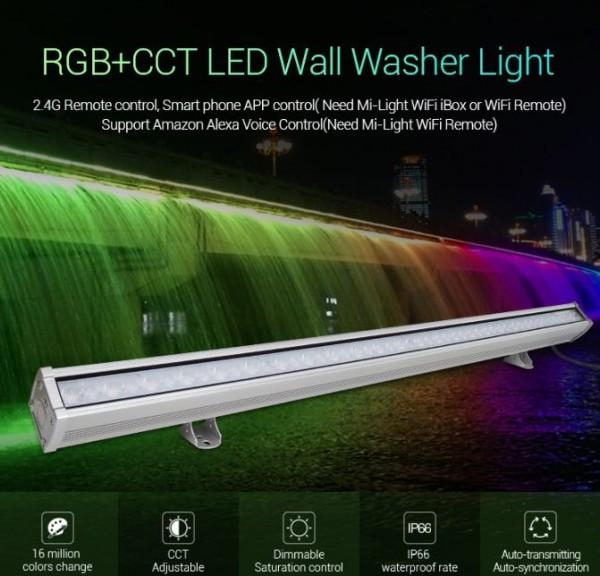 Synergy 21 LED Wallwasher 48W RGB+CCT IP66 *Milight/Miboxer*