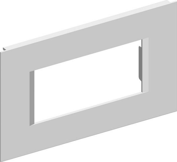 TEM Serie Modul Brüstungskanal COVER PLATE MA92 4M ES