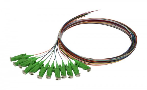 LWL-Pigtail-LSH(E2000APC) 9/125u, 2mtr. OS2, 12-Pack, farbig, Synergy 21,
