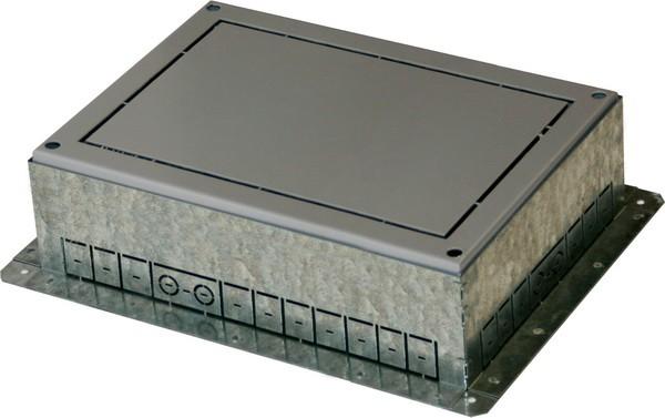 TEM Serie Modul Bodendose FLOOR BOX FLANGEMT 21 H=88mm