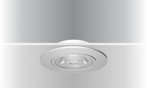 Synergy 21 LED Deckeneinbauspot Helios silber, rund+schwenkbar, neutralweiß