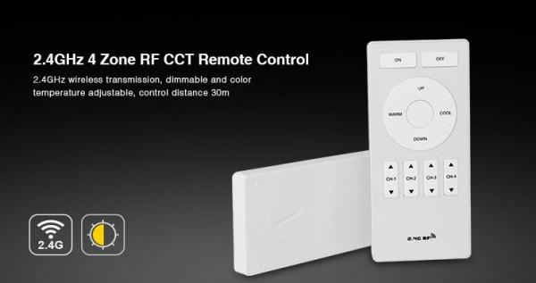 Synergy 21 LED Fernbedienung dual white (CCT) 4 Zonen *Milight/Miboxer*