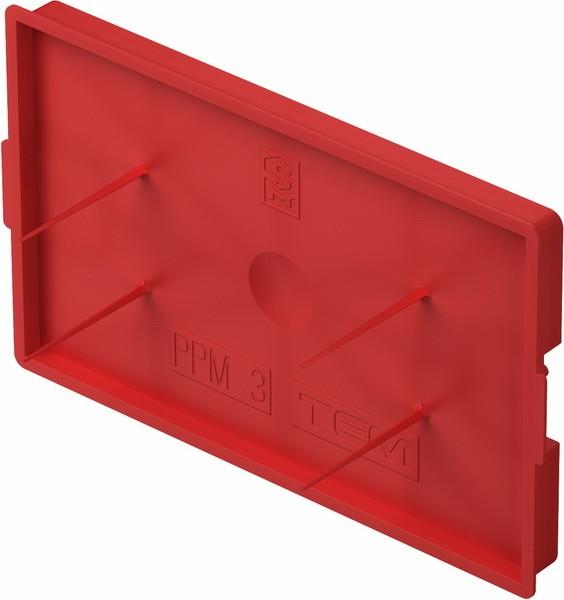 TEM Serie Unterputz Dosen BOX COVER PROTECTIVEPM3 20/1