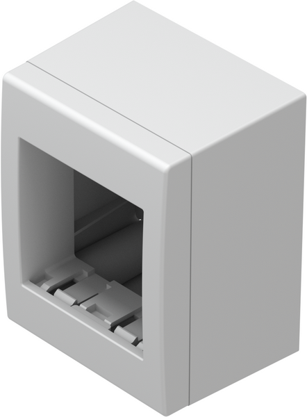 TEM Serie Modul Aufputzgehäuse IP20 BOX NO CUBO WITH BACK SIDE COV