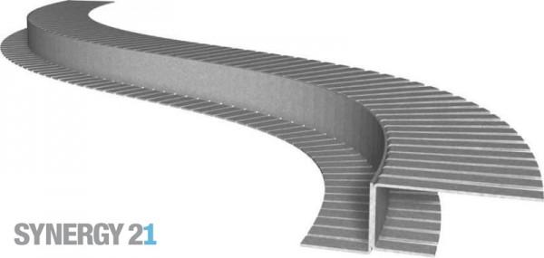 Synergy 21 LED Profil 200cm, Zinkblech TYP-C Flex