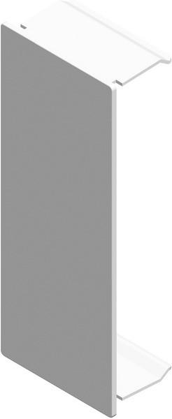 TEM Serie Modul Brüstungskanal STOP END MA165x65 PW