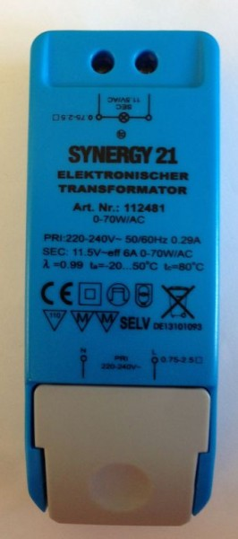 Synergy 21 Netzteil - 12V 105W AC dimmbar