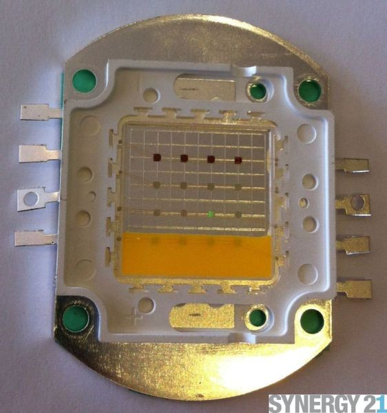 Synergy 21 LED SMD Power LED Chip RGB 16Watt warmweiß