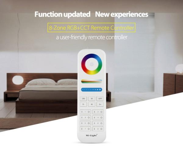 Synergy 21 LED Fernbedienung RGB-WW (RGB-CCT) 8 Zonen *Milight/Miboxer*