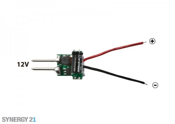 Synergy 21 Netzteil - CC Driver 350mA, 230Volt 3x1Watt 5 Stk.