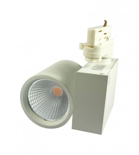 Synergy 21 LED Track-Serie für Stromschiene VLA-Serie 40W, 30°, nw, CRI>90