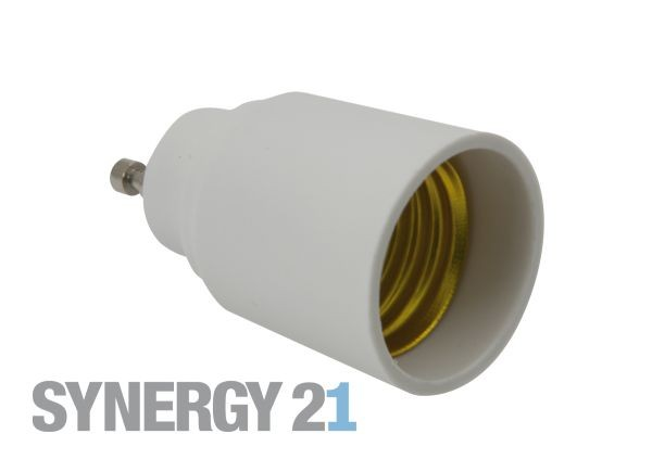 Synergy 21 LED Adapter für LED-Leuchtmittel GU10->E27
