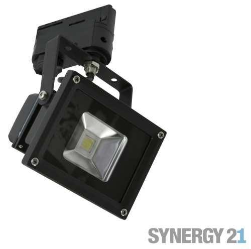 Synergy 21 LED Track-Serie für Stromschiene 10W kaltweiß/schwarz V2