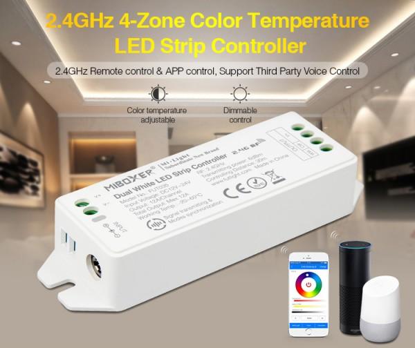 Synergy 21 LED Controller dual white (CCT) DC12/24V 4 Zonen *Milight/Miboxer*