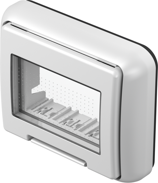 TEM Serie Modul Aufputzgehäuse IP55 BOX PO CUBOIP55 3M PW