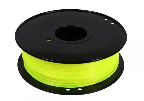Synergy 21 3D Filament PLA /fluorescence/ 3MM/ fluorescence gelb
