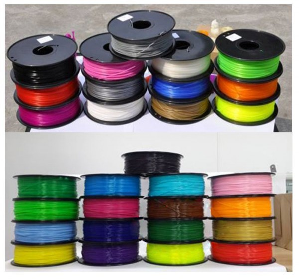Synergy 21 3D Filament PLA /Changing color / 3MM/ grün to gelb