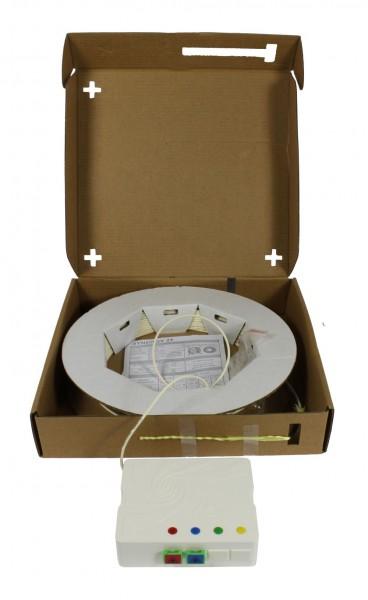 FTTH Compact Box vorkonfektioniert, 2xSC/APC -> open End, 20m, 9/125u, G.657.A2, 2-Faser, OD=2,2mm