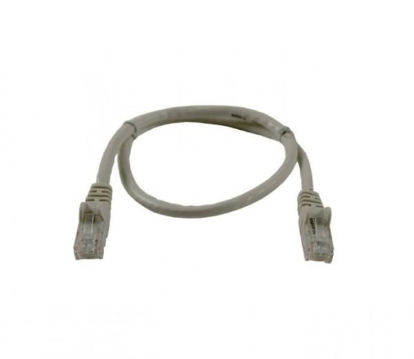 Patchkabel RJ45 UTP(U/UTP). 5m grau, CAT6, PVC, Synergy 21,