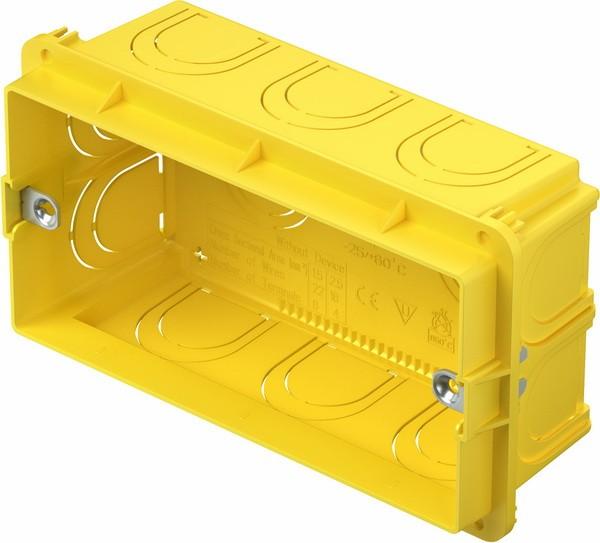 TEM Serie Unterputz Dosen RECTANGULAR BOX FOR BRICKPM4
