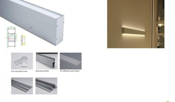 Synergy 21 LED U-Profil 200cm, ALU049