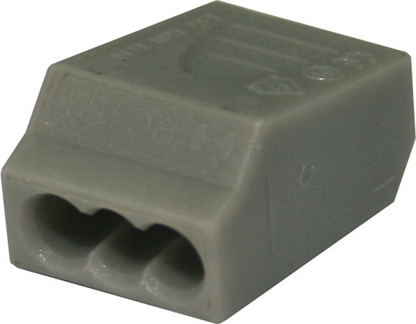 TEM Serie Dosenklemme CONNECTOR PLUG-INPA 1.5mm2 3P